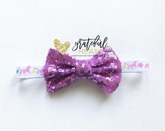Unicorn headband, Toddler Unicorn headband, Unicorn bow, Girls unicorn headband, Baby unicorn, Baby unicorn headband, Toddler unicorn party