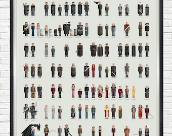 Game of Thrones - The Players - - - A1 - - - Poster