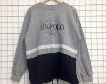 U.S Polo Association Sweatshirts Medium Size Nice Design
