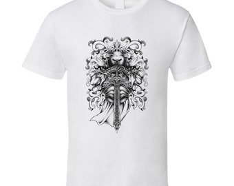 Knight And Armor T Shirt