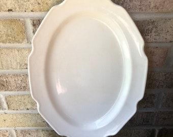 Vintage Ironstone Plattet