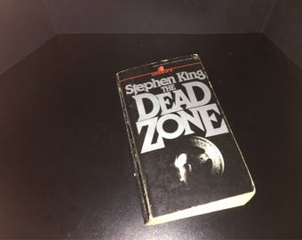 Stephen Kings The Dead Zone book