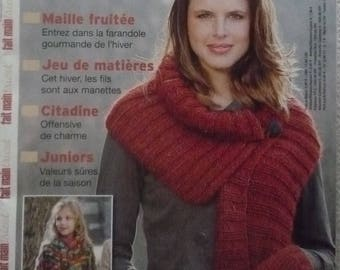 Knitwear hand made winter 2015 magazine