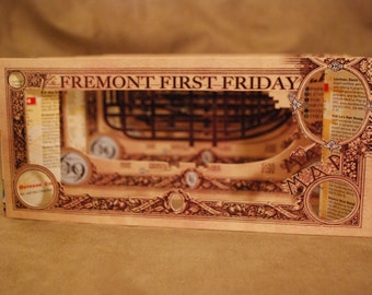 Fremont First Friday Brown - Tunnel Book by theZim
