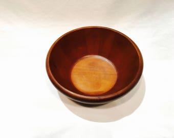 Large wood bowl, Thomas O'Brien, Wood salad bowl, Rustic kitchen, Large wood salad bowl, Rubber wood, Rubber wood bowl, Mixing bowl