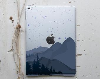 iPad Mini Hard Case iPad 9.7 2017 Mountain iPad Air Case iPad 6 Case iPad Air 3 Case iPad Mini 4 Case iPad 3 Case iPad Air 2 Stand WC4165