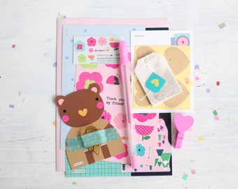 Happy Mail For Your Special Person, Snail Mail, Crafts, Makers, Illustrations, Cute Stationery