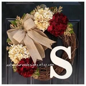 YEAR ROUND Door Decor, Everyday Wreaths, Wreath for Front Door, Wreath, Hydrangea Wreath