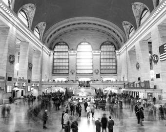 Grand Central Station NYC Photo Print