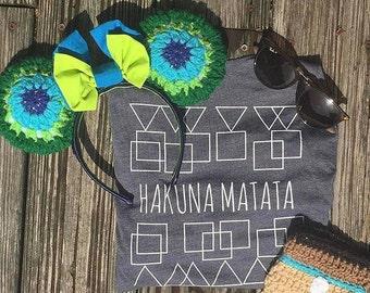 Hakuna Matata, Lion King shirt, Hakuna Matata Shirt,  Disney Shirt, Disney Tank Top,  Disney Quote Shirt, Disney World Shirt, Summer Shirt