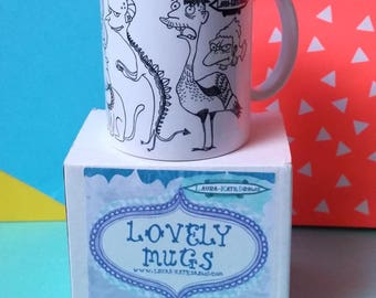 Mr Burns mug / The Simpsons gift / The Simpsons mug / funny mug for boyfriend /best friend mug / statement coffee mug / unique coffee mug