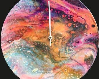 Acrylic 30 cm Wall Clock / Handmade /Unique Designs #2