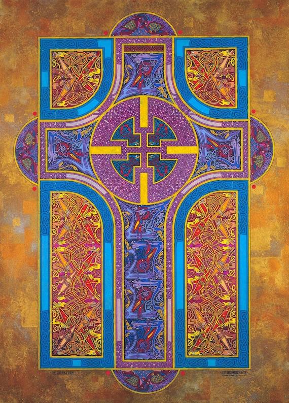 Christian Art Print The Shining Path 16x11 Celtic Art Print