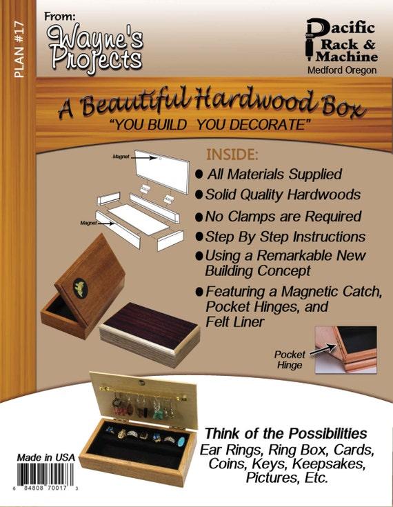 A Beautiful Hardwood Box Plan