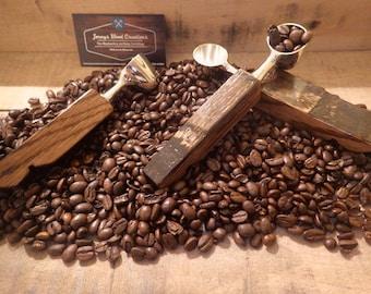 Bourbon Barrel Coffee Scoop