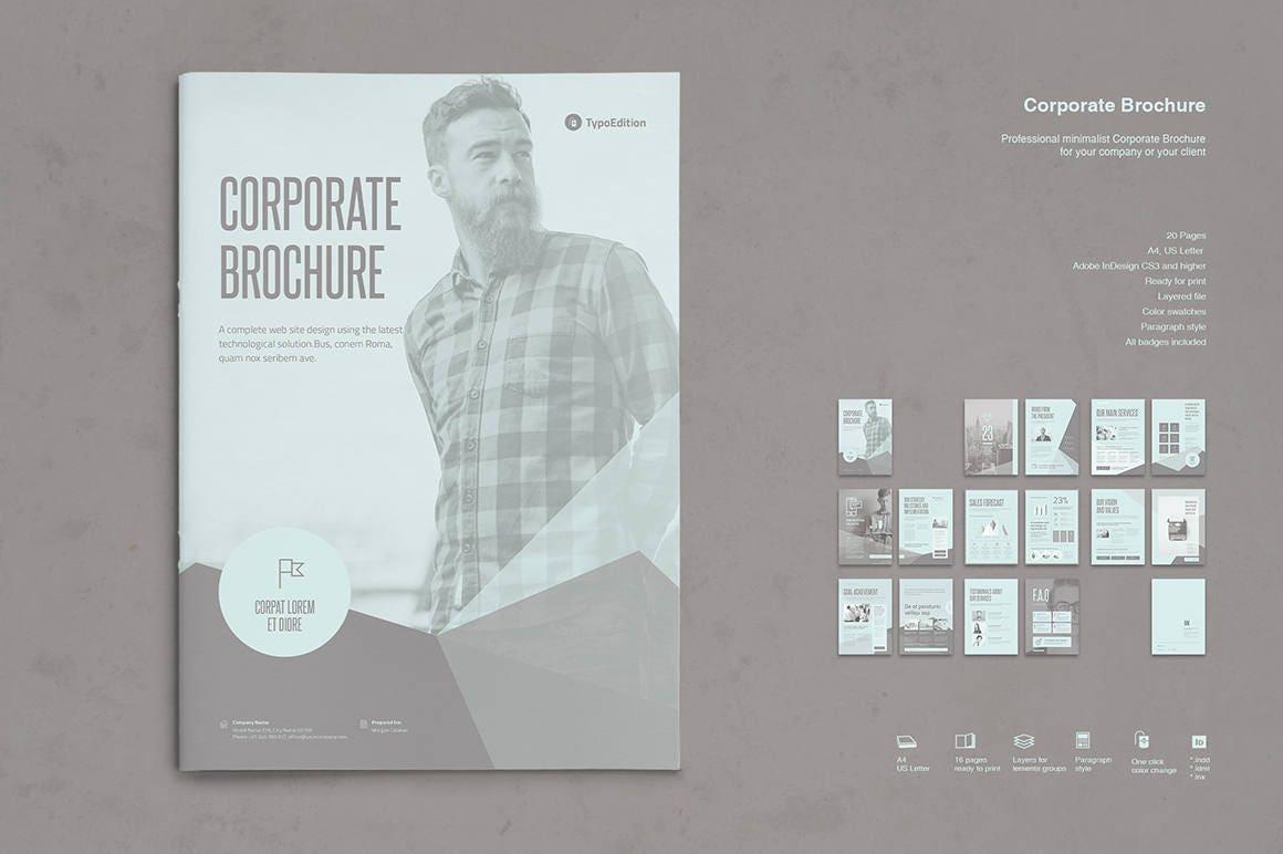 Berühmt Unternehmensbroschüre Vorlage Bilder - Beispiel ...