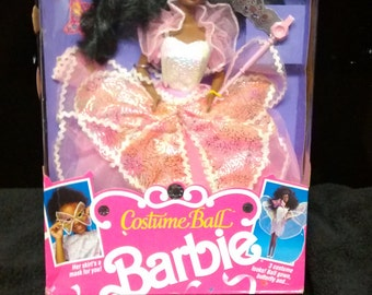 Mattel Costume Ball African American Barbie doll
