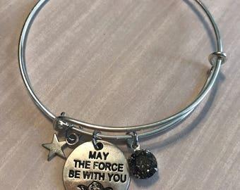 Star wars inspired Bangle Bracelet