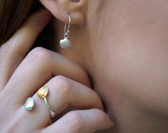 Real Sea Shell, Sea Shell Earrings, Dainty Earrings,  Small Earrings, Summer Earrings, Beach Earrings, Ocean Earrings, Nautical Earrings