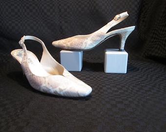 Vintage pumps Roberto Cappuci / Vintage Low-fronted Roberto Cappuci shoe