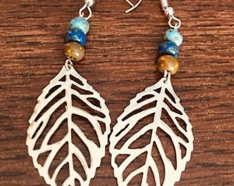 Spring Leaf Dangle Earring