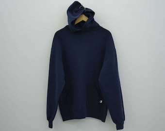 Russell Sweatshirt Vintage Russell Hoodie Russell Vintage Plain Sweat Made in USA Mens Size L