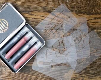 DENIM DIY tattoo kit