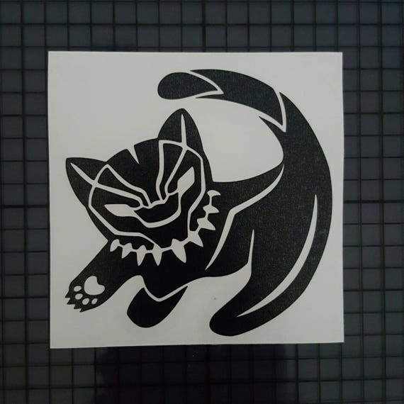 Marvel comics disney crossover decal black panther simba