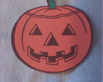 5 Pack of Color Cardstock Orange Pumpkins