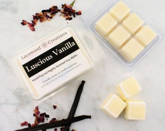 Vanilla Wax Melts, Scented Wax Melts, Soy Wax Melts, Wax Tarts, Candle Melts, Wax Tablet, Home Fragrance, Vanilla Scent, Australian Sellers