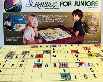 Scrabble For Juniors, Scrabble Game