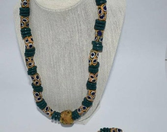 Entire Store ON SALE Dazzling West African Bead Necklace