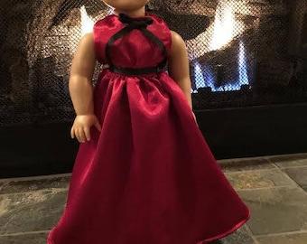 18 inch doll Victorian Ballgown