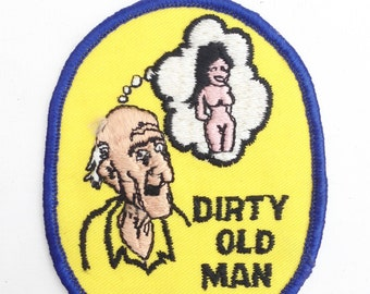 Vintage Dirty Old Man Patch