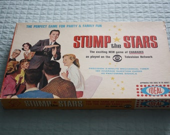 Stump the Stars Charades Game -- Ideal