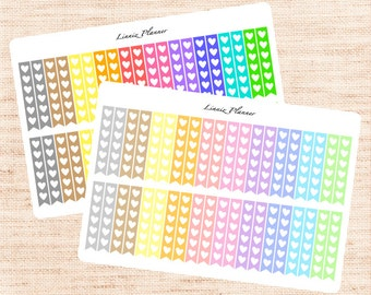 Checklist Functional Basics (matte planner stickers, Erin Condren, Happy Planner)