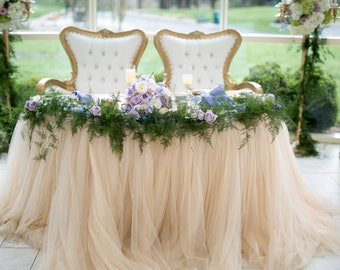 Tulle Tutu Tablecloth Available in Custom Colors