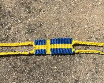 The Swedish Flag Friendship Bracelet