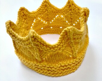 Crown for Costume Kings Queens Renaissance Costume Princes Princesses Mermaid birthday crown Sunflower Gold Halloween Costume