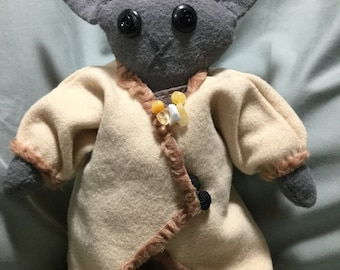 Edith the Wealth Bunny Poppet