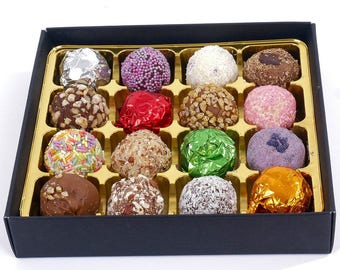 Box of 16 Artisan Chocolate Truffles