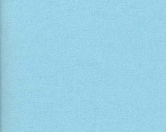 END OF BOLT - 1/2 Yard - Kona Cotton - Baby Blue by Robert Kaufman Fabrics for Robert Kaufman - Solids Fabrics - Baby Blue Fabric
