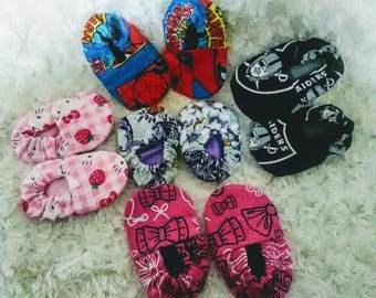 Baby Shoe / Bootie Sewing Pattern