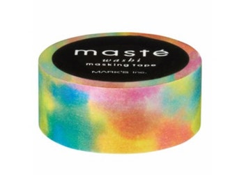 Festival Rainbow Washi Tape by Masté Masking Tape Japan