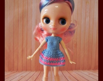 Blythe Middie dress with articulated body