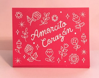 Amorcito Corazon / Greeting Card