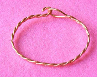 Cuff - Twisted copper wire