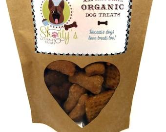 Gourmet Dog Treats - Shorty's Sampler- Organic Handmade All Natural Vegetarian Treats - Shorty's Gourmet Treats