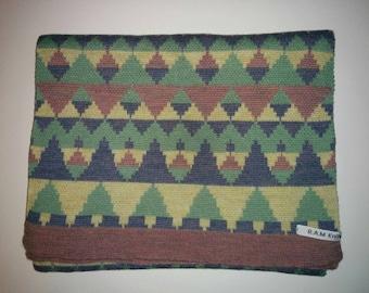 Unique Merino Wool Triangle Scarf