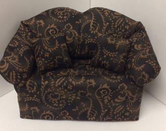 Brown  Sofa Tissue Box Cover